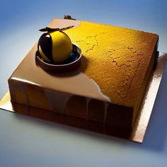 Доброе утро! Моя осень вам для настроения))) печеный шоколад-абрикос-пралине-грецкий орех!)))