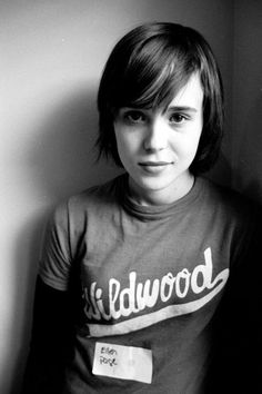 Ellen Page in youth
