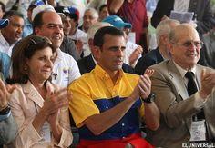 Capriles Radonski inscribió su candidatura ante el CNE #hayuncamino