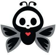 Skelanimals butterfly