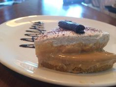 BANOFFEE PIE  A classic pudding of banana & toffee — at Mocha Guwahati.