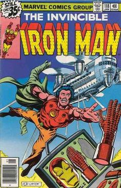 Iron Man #118 first appearance of James Rhodes.