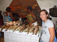 Yaoundé...Cameroun.. Un modo particolare di andare a cena fuori...