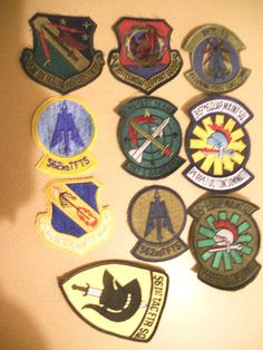 10 DIFF MILITARY PATCHES-LOT 2