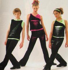 Hip Clothes For Boys   Slash Girls Version Hip Hop Tap Dance Costume Child XL   eBay