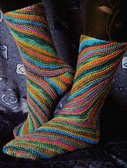 Ravelry: Exotic Whirlpool sock pattern by Natalia Vasilieva