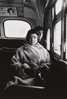 early unseen diane arbus photographs arrive at the met | look | i-D Diane Arbus, Lady on a bus, N.Y.C., 1957 © The Estate of Diane Arbus