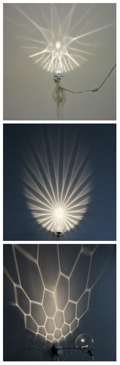 Финский дизайнер Kirsti Taiviola представила свою новую коллекцию бра. С технической точки зрения, это довольно сложные цветочные проекции света, возникающие из точно образных стеклянных чаш, которые определяют красоту проекции. Но светильники наверняка стоят затраченных усилий. #светодиоды #светильники #светодиодныесветильники #освещение #подсветка #дизайнсвета #светодизайн #дизайнерскиесветильники