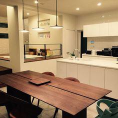 名古屋モザイク/キッズスペース (リビング)/スキップフロア/キッズスペース…などのインテリア実例 - 2016-03-21 03:22:40 | RoomClip(ルームクリップ) Interior And Exterior, Interior Design, Kid Spaces, Architecture Design, Kitchen Decor, Sweet Home, House Design, Flooring, Dining