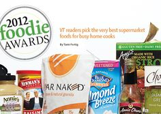 2012 Foodie Awards: best super market foods for your pantry. | Vegetarian Times