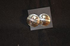 Thomas Singer Navajo Gold Filled and Sterling Silver 12KGF Post Earrings