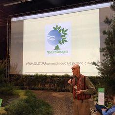 Nell'area #ExpoGreenLand John Button ci parla di #Permacultura un matrimonio tra persone e luogo.