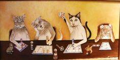 More cats playing bingo