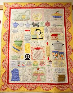 Pattern by Lori Holt I would love to make this for my daughter!