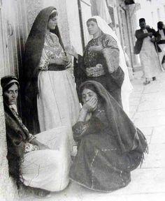 Ramallah-رام الله: Women of Ramallah and environs 1950s