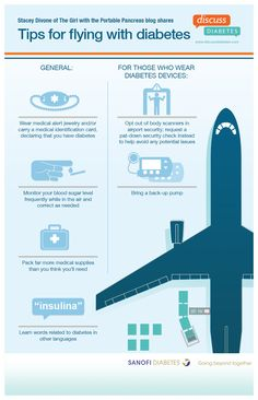 Tips for flying with #diabetes