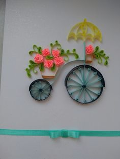 Quilling# bike# cycle# hobby
