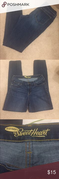 "Old navy The sweetheart. Straight/skinny. Size 10. Inseam 30"".   (53) Old Navy Jeans Skinny"