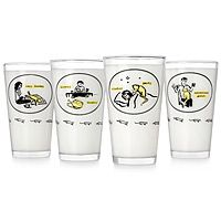 INCONVENIENT KITTY TUMBLERS- SET OF 4|UncommonGoods