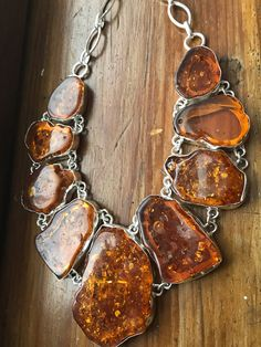 Your place to buy and sell all things handmade Amber Necklace, Amber Jewelry, Silver Jewelry, Jewellery Uk, Jewelery, Jewelry Necklaces, Gypsy Jewelry, Cute Jewelry, Dragon Pendant