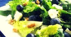 Blueberry Walnut Salad Recipe is a tasty & super delicious American dish. Papaya Recipes Salad, Diet Salad Recipes, Salad Recipes Video, Vegetarian Recipes, Healthy Recipes, No Calorie Foods, Low Calorie Recipes, Podi Recipe, Andhra Recipes