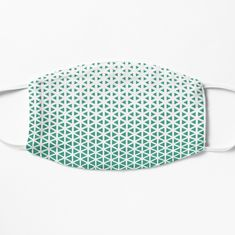 Face masks help you express yourself even when you can't show your face and protect you at the same time.  #facemask #mask #mintmask #maskwithpattern Halftone Pattern, Triangle Pattern, Spandex Fabric, Snug Fit, Face Masks, Mint, Facials, Peppermint
