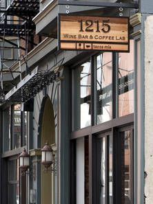 1215 Wine Bar and Coffee Lab in OTR Over The Rhine - nice flights of wine to share