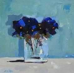 Mary Davidson. Pansies Study, 2013