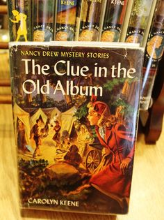 NANCY DREW MYSTERY THE CLUE IN THE OLD ALBUM BY CAROLYN KEENE ~ 1947 HC W/DJ