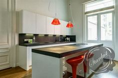 Kitchen Counter Lamps: Ingo Maurer Campari Lights
