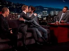 Watch: Game of Thrones' Iwan Rheon and Alfie Allen Kiss and Make Up
