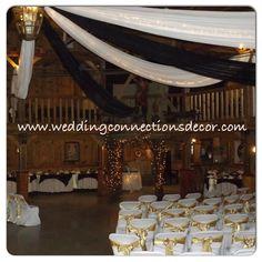 #weddingconnections #wedding #weddingdecorator #weddingbackdrop #weddingday #whitewedding #steelers #purplehilldecorator #rusticvenue #thorndale #purplehillmusichall #purplehillwedding #blackgoldwedding #pittsburgsteelerswedding #blackandwhitewedding