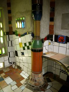 Image result for friedensreich hundertwasser architecture interior