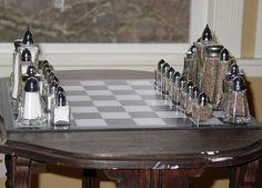 S chess set:
