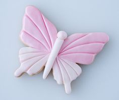 How to decorate a butterfly cookie