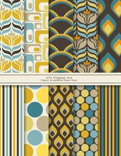 retro patterns: