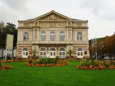 Baden-Baden is about 40 km NE of Strasbourg, making it an easy day trip if you were based there and had a yearning to have a dip in the thermal waters.