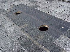 Patching Small Holes In A Shingle Roof