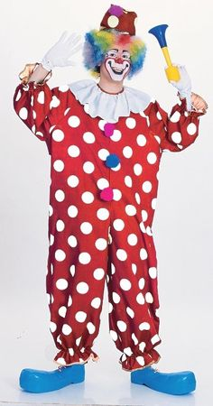 Clown Party Costume | Circus Party Supplies | Halloween Dress Up Costume