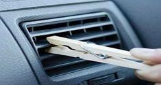 Voici une astuce ingénieuse qui ne nécessite qu'une pince à linge en bois et qui va vous aider à vous débarrasser des mauvaises odeurs de votre voiture.