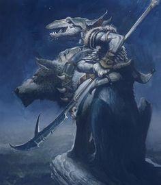 WOLF RIDER BY JUSTIN GERARD