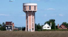 building water tower