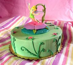 a tinkerbell cake