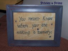 PatternYou never know when you are making a by priviesandprims, $2.99