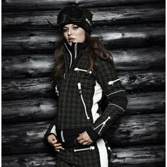 Established in Sweden in 1982 SOS Ski wear is synonymous with groundbreaking ski style, and high performance materials and design . Snowboarding, Skiing, Ski Bunnies, Bunny, Best Ski Goggles, Hounds Tooth, Ski Wear, Deep Forest, Ski Fashion