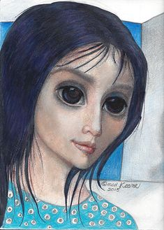 SO BE IT Big Eyes Margaret Keane, Keane Big Eyes, Keane Artist, Sad Pictures, Jehovah's Witnesses, Eye Art, Famous Artists, Vintage Art, Disney Characters