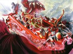 Evolution: X-Men - Limited Edition Giclee on Canvas by Alex Ross