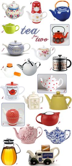 Tea For Two And Two For Tea – Choosing The Perfect Teapot. My perfect teapot...the one that makes me happy.