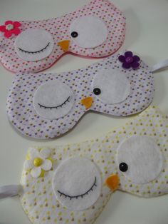 2014 Creative Hot And Cold Compress Cartoon Sleeping Eye Mask EyePatch With Ice Cooler Bag,Cute Cat Sleeping Eyeshade For Travel Felt Crafts, Fabric Crafts, Sewing Crafts, Sewing Projects, Diy Crafts, Pochette Diy, Pirate Eye Patches, Baby Girl Dress Patterns, Sewing To Sell