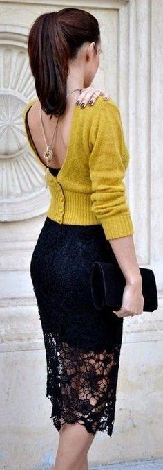 Solo il maglione al contrario